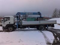 грузовик с манипулятором 10тонн